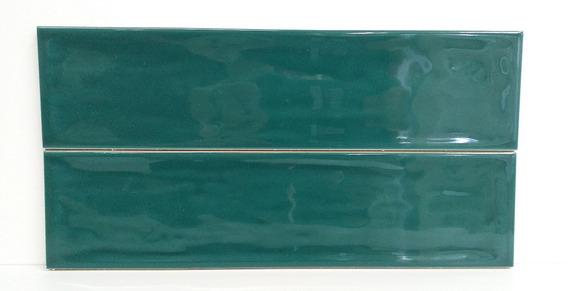 Azulejo Flow Living Green Ceramica 7,7x30,5 1ra Roca Incepa