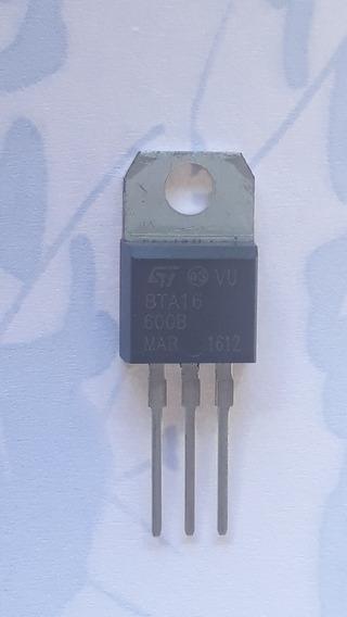 04 Transistores Bta16-600b Bta 16 - 600b Envio E$ 12,00