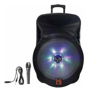 Parlante Mr. Dj Dj18bat 18 Inch 5000w Max Power Built-in Blu