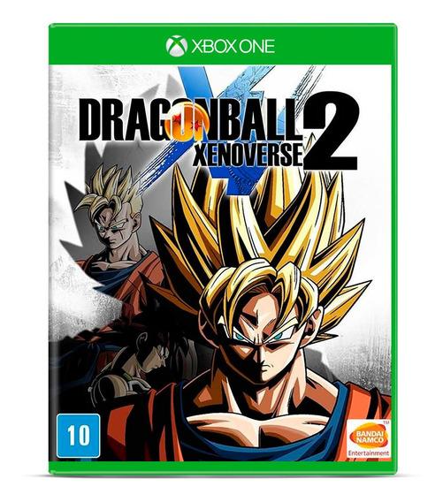 Dragon Ball Xenoverse Jogo Xbox One Mídia Física