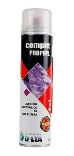 Imagen 1 de 2 de Compitt Prophyl 315 Grs/ 440cc Alcohol Isopropilico Delta Ph