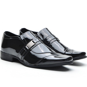 Sapato Social Masculino Adulto/infantil Verniz Form