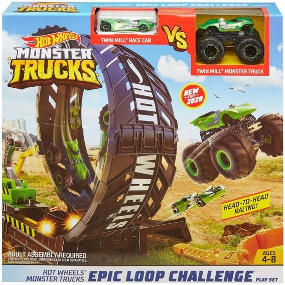 Nova Batalha Do Tubarão Hotwheels Monster Trucks Mattel.