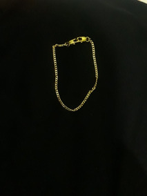 Pulseira Masculina Banhada A Ouro 18k 5mm