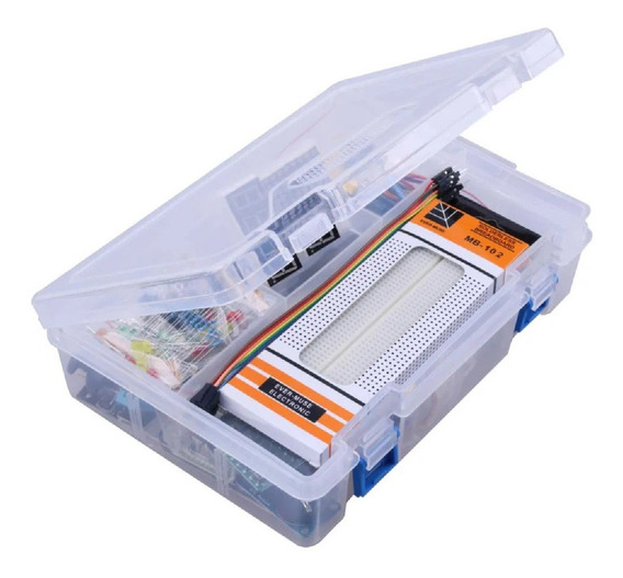 Kit Arduino Uno Box 1 Supercompleto Emakers