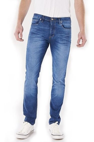 Jeans Hombre Bensimon Ultra College Recto Tiro Bajo