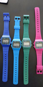 Reloj Retro Digital Colores Casio Mayoreo