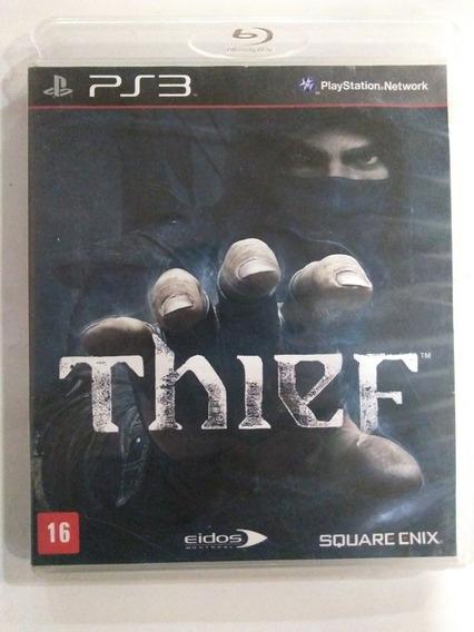 Jogo Thief Ps3 Mídia Física Completo R$29,90