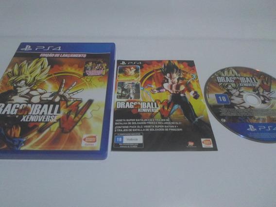 Dragon Ball Xenoverse Ps4 Original - Completo Frete R$ 11,00