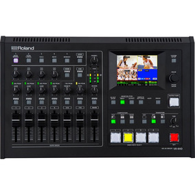 Mixer Audio E Video Roland Vr-4hd Garantia 1 Ano Vr 4hd