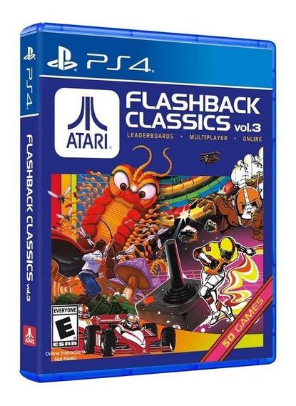 Atari Flashback Classics Vol. 3 - Ps4 - Mídia Física