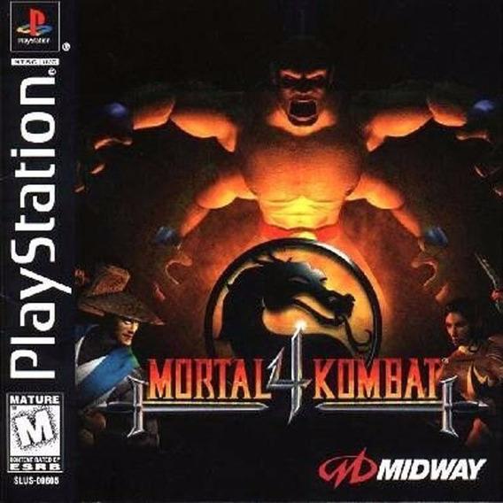 Mortal Kombat 4 Playstation 1