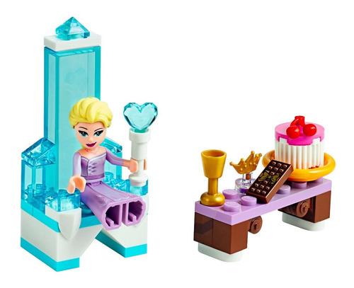 Lego Frozen 2 Trono De Hielo De Elsa 30553 42 Pzs