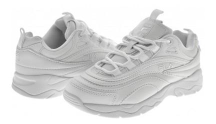 Zapato Escolarfila 3rm 00894 100 White Fila Ray 17-25 Niños