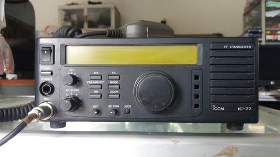 Radio Transmisor Marca Icom Ic-77 Hf All Band Transceiver P