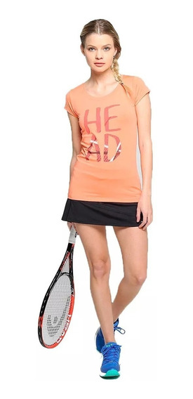 Remera Tenis Head Femenina Padel Entrenamiento Mujer Paddle Deportiva