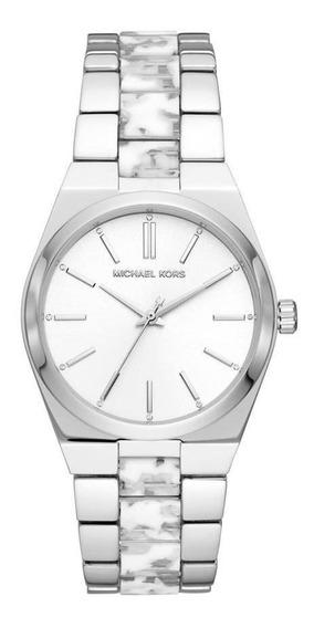 Relógio Michael Kors Channing Feminino Prata Mk6649/1kn
