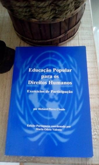 Livro Educação Popular Para Os Direitos Humanos