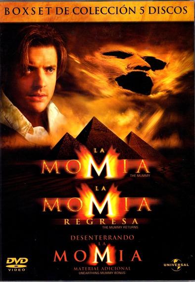 La Momia Boxset De Coleccion 5 Discos