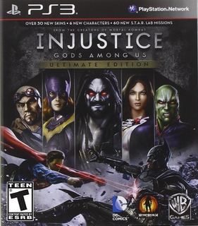 Injustice Gods Among Us Ultimate Edition Juego Digital Ps3