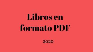 Libros Digitales Pdf 2020