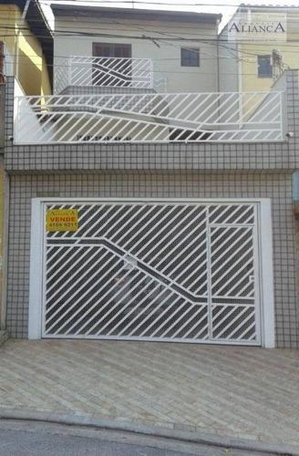 Imagem 1 de 30 de Sobrado Com 3 Dormitórios ( 1 Suite ) À Venda, 152 M² Por R$ 530.000 - Jardim Palermo - São Bernardo Do Campo/sp - So0534