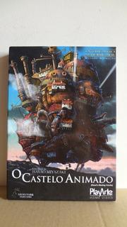 Dvd O Castelo Animado Com Luva - Original, Usado