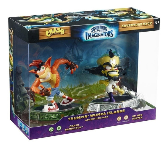 Skylanders Imaginators - Crash Bandicoot E Dr Neo Cortex