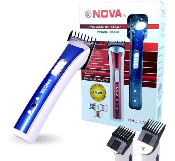 Máquina De Cortar Cabelo Fazer A Barba Pezinho Recarregável