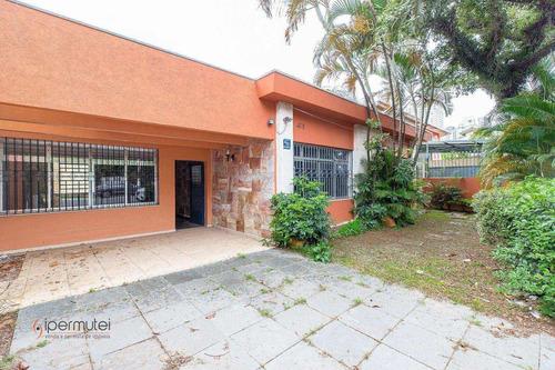 Imagem 1 de 30 de Linda Casa Com 4 Dormitórios À Venda, 310 M² - Brooklin - São Paulo/sp - Ca0264