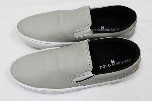 Sapatênis Polo Wear Masculino Off White 0072796