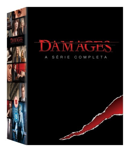Dvd Box Damages - A Série Completa - 15 Discos Original Novo