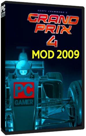 Grand Prix 4 (temporada 2009 Mod) - Pc Dvd - Frete 8 Reais