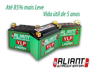 Bateria 12v 9ah Lítio Ylp09b Aliant Ninja Zx-6r 03-04