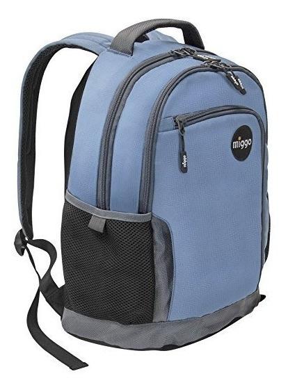 Morral Bolso Escolar Para Laptop Tablet Portatil Viaje Miggo