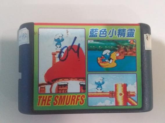 Jogo Mega Drive The Smurfs Paralelo - Frete Grátis