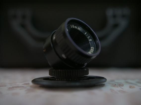 Lente 16mm Cosmicar 1.6