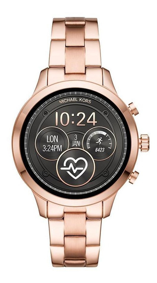 Smartwatch Michael Kors Feminino Runway Rosé - Mkt5046/1ji