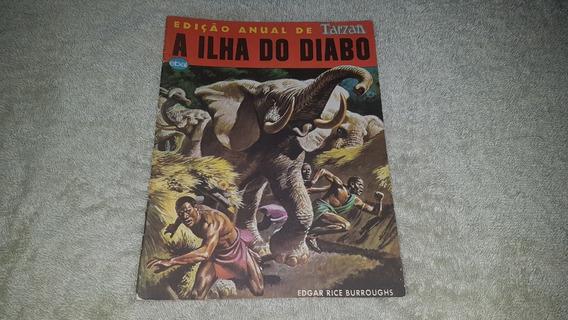 Hq Tarzan - A Ilha Do Diabo - Ebal - 1981 - F. Álbum - P & B