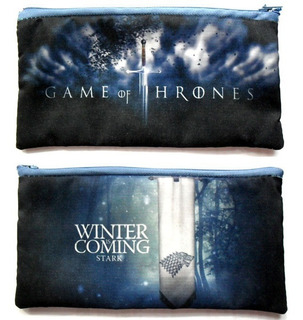 Cartuchera De Game Of Thrones Stark Winter Is Coming