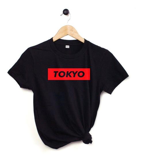 Blusa Playera Camiseta Dama Tokyo Japón Elite #799