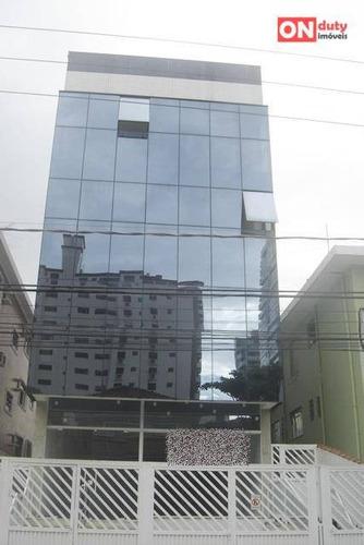 Prédio Comercial Para Locação, Embaré, Santos. - Pr0009