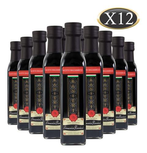 Aceto Balsámico Domenico Ranieri Botella 250 Ml X 12 U
