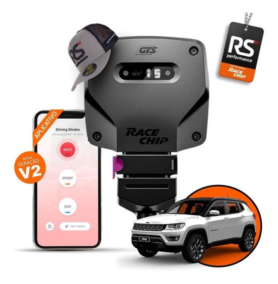 Racechip Jeep Compass 2.0 Chip De Potência Gts V2 + App