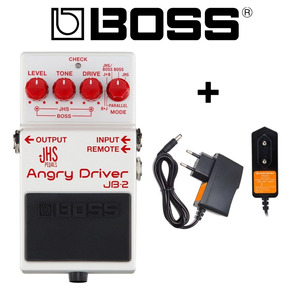 Boss Jb-2 Angry Driver Overdrive Jb-2 Original + Fonte Top