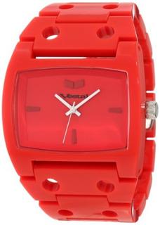 Vestal Hombres Desp031 Destructor Reloj Rojo- Envío Gratis