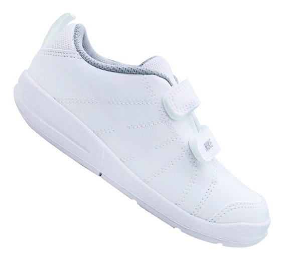 Tênis Nike Infantil Menino Pico Branco Original 619041109