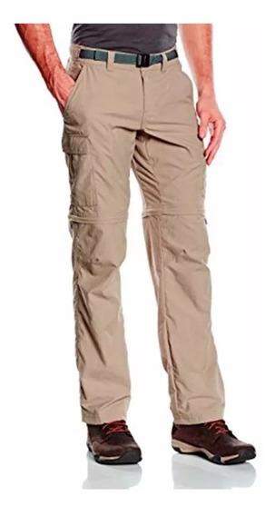 Pantalon Trekking Hombre Columbia Cargo Secado Rapido Prouv°