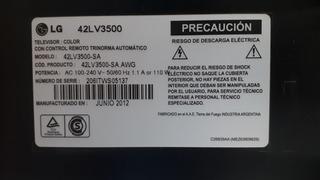 Televisor LG 42lv3500, Lcd Mojado