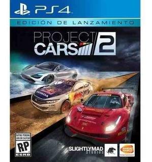 Juego Ps4 Project Cars 2 Edición De Lanzamiento